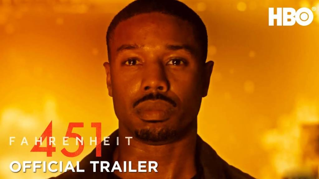 1st Trailer For HBO Original Movie 'Fahrenheit 451' Starring Michael B. Jordan & Laura Harrier