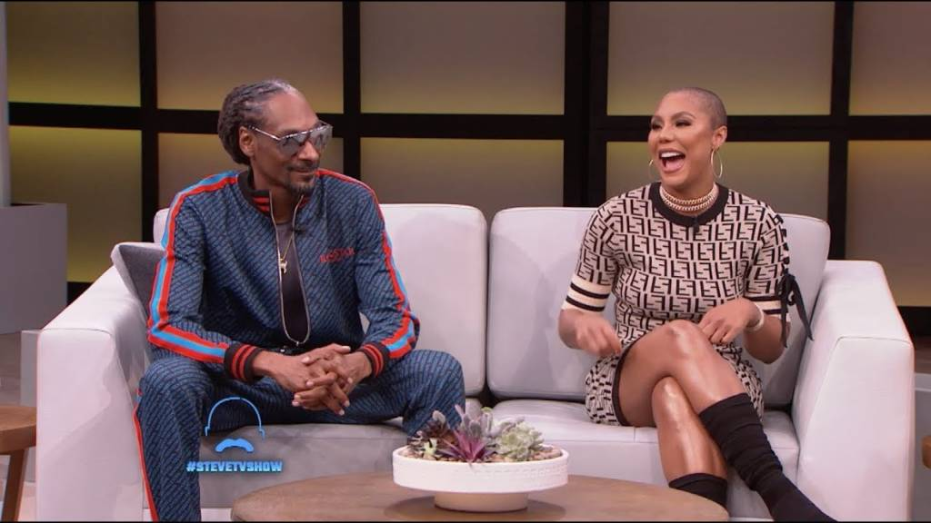 Snoop Dogg & Tamar Braxton Play 'Who Is It?' On 'Steve' (#SteveTVShow)