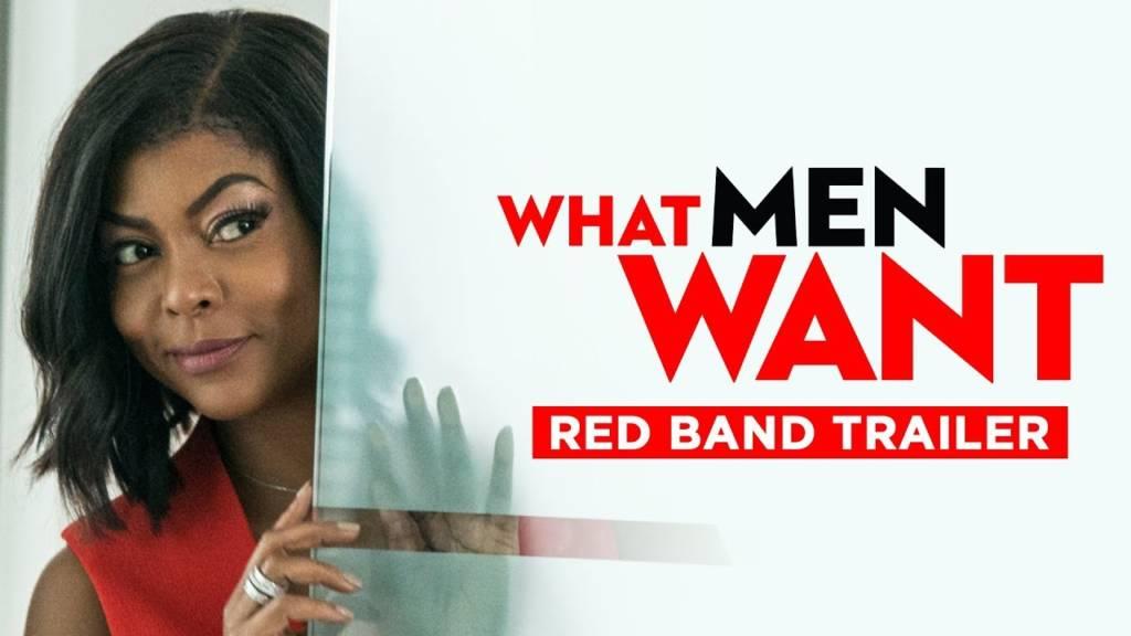Red Band Trailer For 'What Men Want' Movie Starring Taraji P. Henson, Tracy Morgan, & Erykah Badu