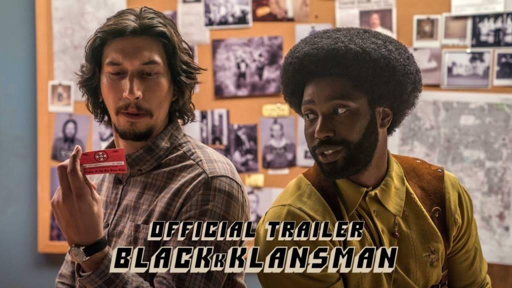 1st Trailer For Spike Lee's 'BLACKkKLANSMAN' Movie (#BLACKkKLANSMAN)