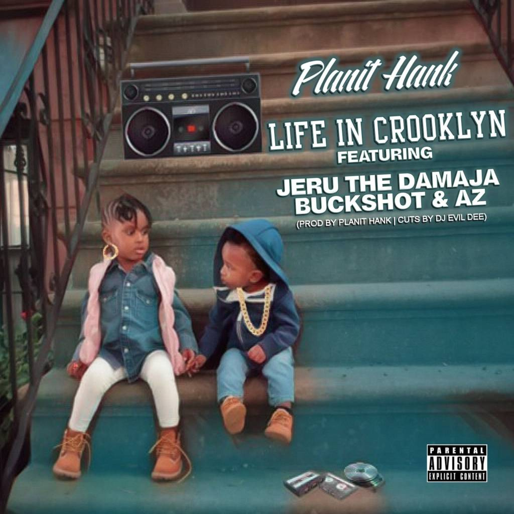 MP3: Planit Hank feat. Jeru The Damaja, Buckshot, & AZ - Life In Crooklyn (@PlanitHank @JeruTheDamaja @Buckshot @QuietAZMoney)