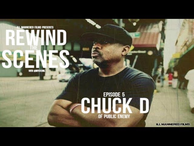 Chuck D On Myster DL's 'Rewind The Scenes' Web Series (@MysterDL)