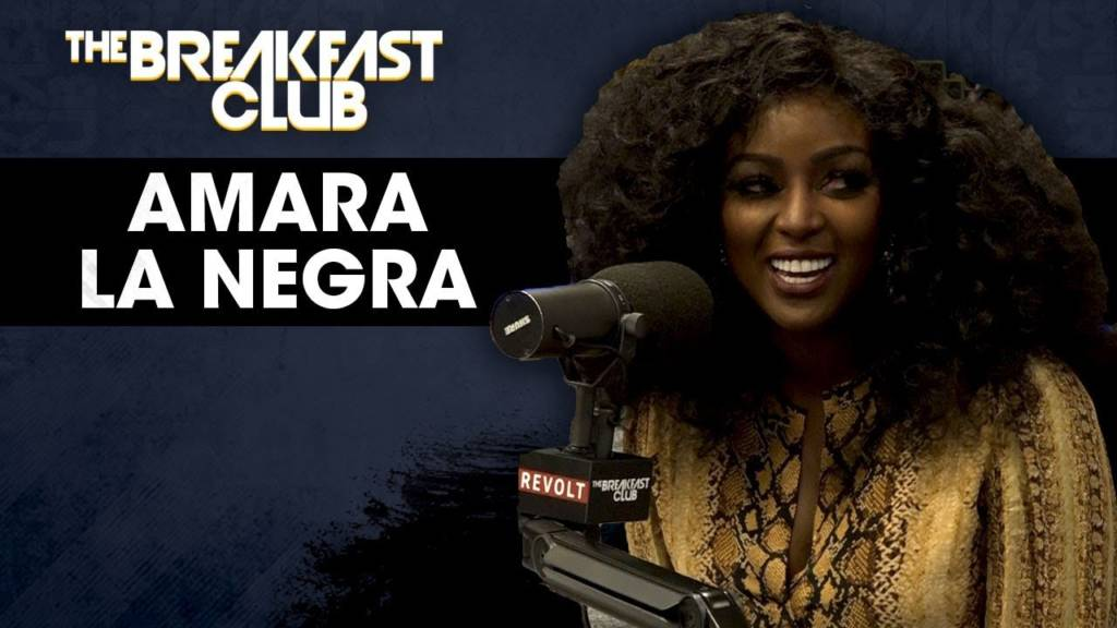 Amara La Negra Talks Dating, Drama In The DMs, Jessie Woo, Jojo Zarur, & More w/The Breakfast Club