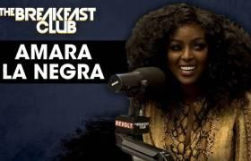 Amara La Negra Talks Dating, Drama In The DMs, Jessie Woo, Jojo Zarur, & More w/The Breakfast Club