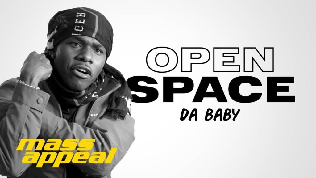 Da Baby aka Baby Jesus On Mass Appeal's 'Open Space' (@BabyJesus704)