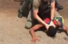 Racist Cops Pepper Spray Black Teen Before Slamming His Head Into Pavement