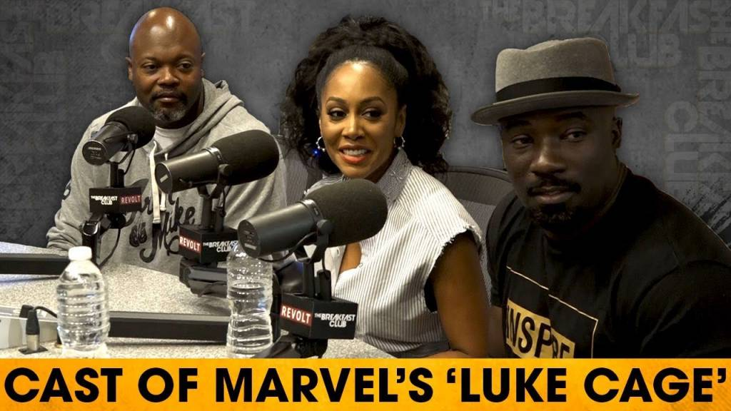 Cast Of 'Luke Cage' On The Rise Of Black Superheroes, Hip-Hop's Role, & Character Developments w/The Breakfast Club (@LukeCage)