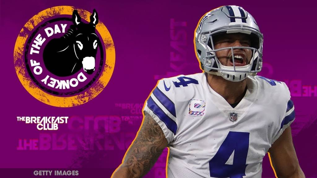Dak Prescott Awarded Donkey Of The Day For Saying 'It's Not The Time To Protest During The National Anthem'