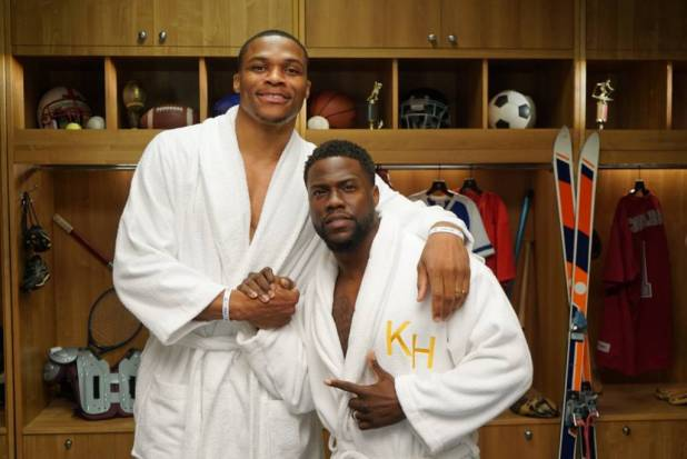 Russell Westbrook On Kevin Hart's 'Cold As Balls All-Stars'
