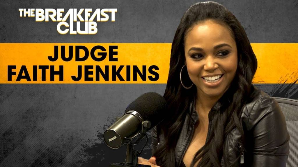Judge Faith Jenkins On Syndicated Court TV, Fair Representation For Heinous Crimes, & More w/The Breakfast Club (@FaithJenkins1)