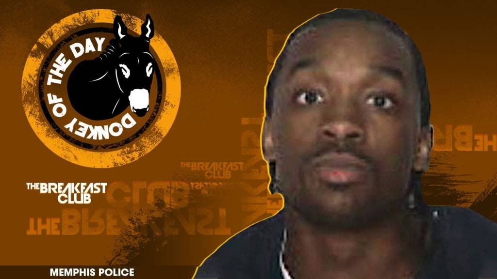 Memphis Man Awarded Donkey Of The Day For Killing Stepbrother Over Plate Of Food At Super Bowl Party