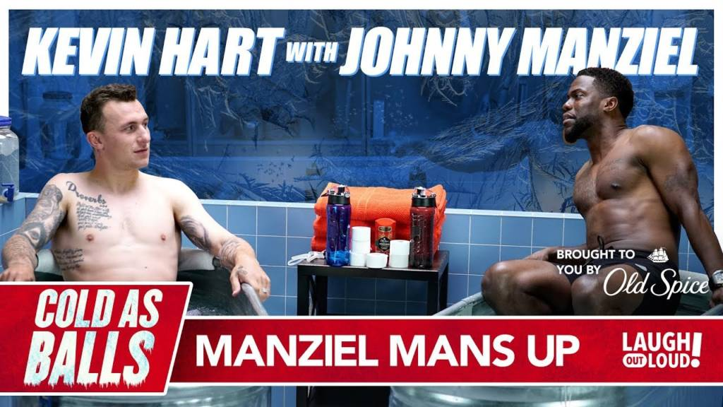 Kevin Hart & Johnny Manziel Get Down & Dirty When Discussing Possible Comeback On 'Cold As Balls'
