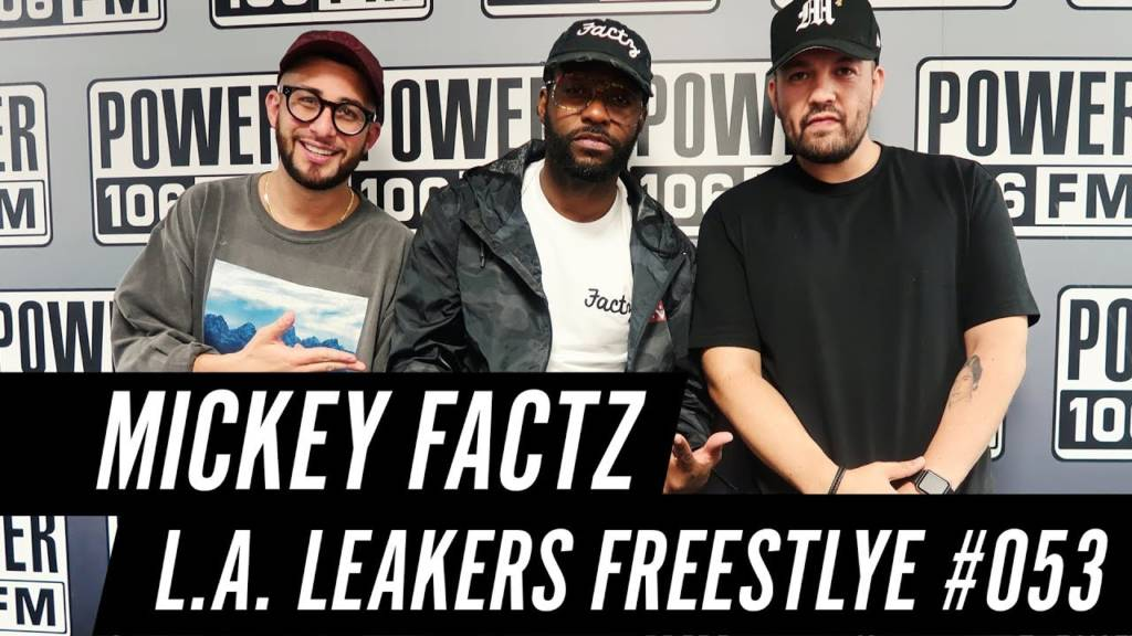 Mickey Factz Freestyle w/The L.A. Leakers - Freestyle #053 (@MickeyFactz @LALeakers)