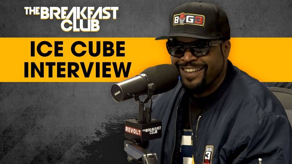 Ice Cube On BIG3 & Why He Wants To 'Kill The G.O.A.T.' w/The Breakfast Club | @IceCube