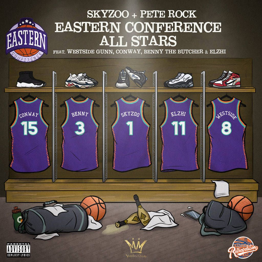 MP3: Skyzoo & Pete Rock feat. Westside Gunn, Conway, Benny The Butcher, & Elzhi - Eastern Conference All​-​Stars
