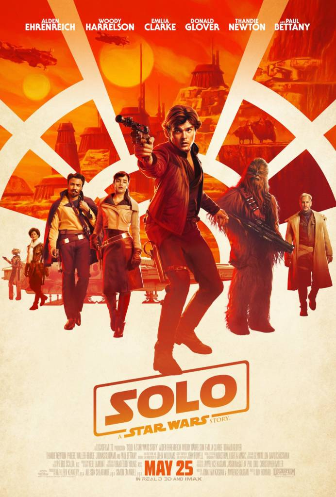 1st Trailer For 'Solo: A Star Wars Story' Movie Starring Donald Glover & Thandie Newton