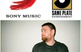 Sony Music & SamePlate logos + SamePlate co-founder Jonathan Master [Press Photo]