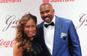 Steve Harvey & Current Wife, Marjorie, Allegedly Linked To Drug Operations