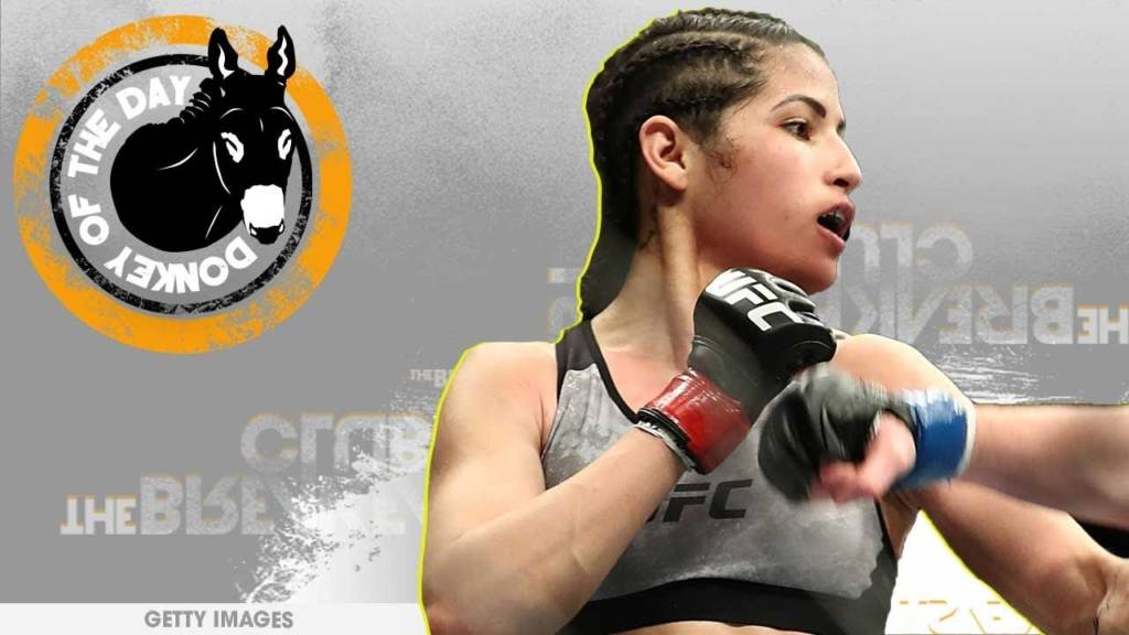 Petty Thief Awarded Donkey Of The Day For Getting Choked Out After Pulling Up On UFC Star Polyana Viana