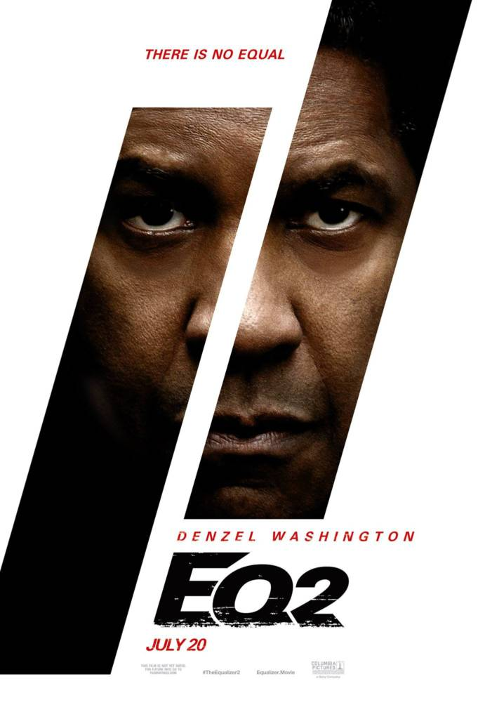 1st Trailer For 'The Equalizer 2' Movie Starring Denzel Washington (#TheEqualizer2)
