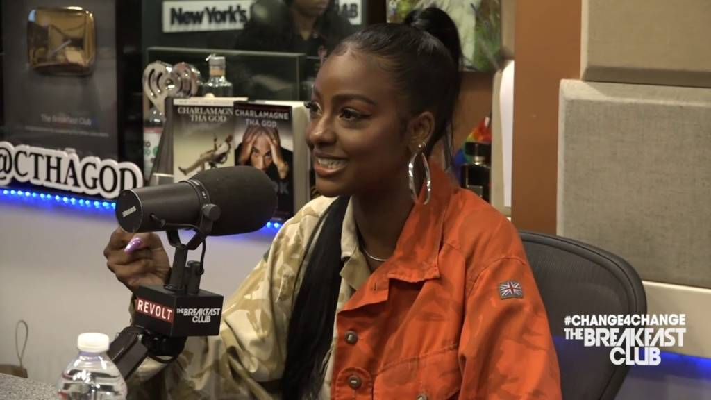 Justine Skye Opens Up About Her Domestic Violence Experience, Relationship w/Kylie Jenner + More w/The Breakfast Club