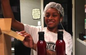 15-Year Old Girl Makes $8K A Month Selling Hot Sauce