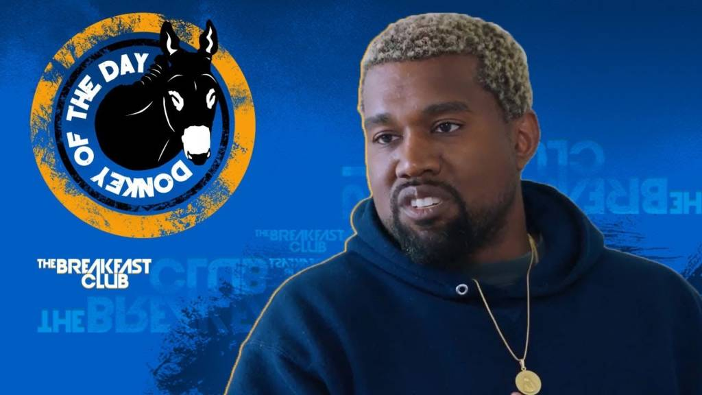 Kanye West Awarded Donkey Of The Day For Claiming Slavery Was A Choice