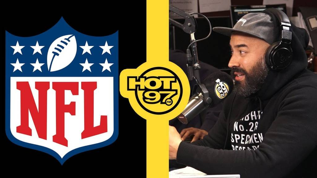 Ebro In The Morning Reacts To NFL's Ban On Kneeling: 'They Care About The Money!'