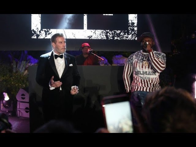 50 Cent & John Travolta Take Over The Cannes Film Festival