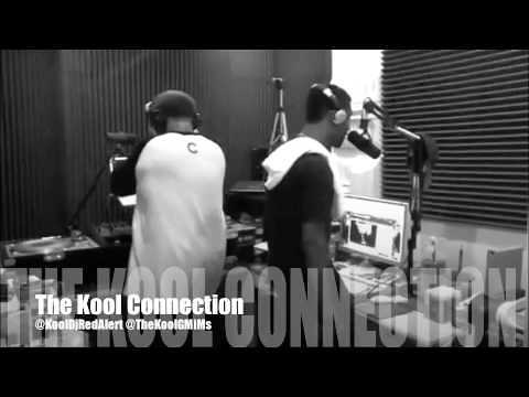 @TheKoolGMiMs & @KoolDJRedAlert In The Studio Going In