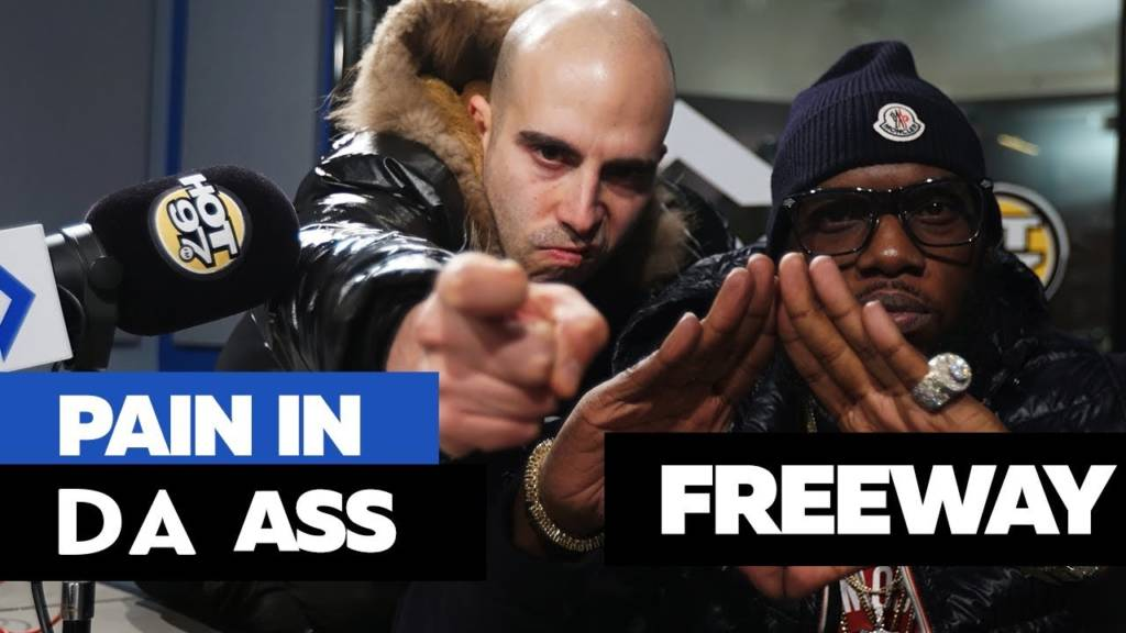Freeway Kicks Freestyle On Hot 97 w/Funkmaster Flex