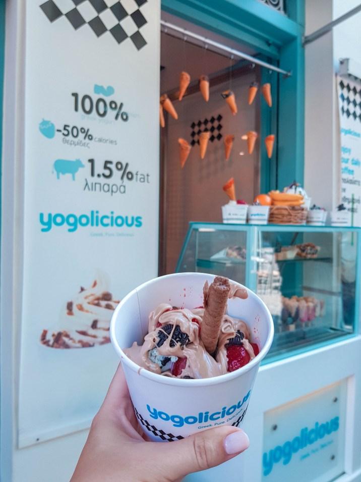 Yogolicious - bestes FroYo in Athen