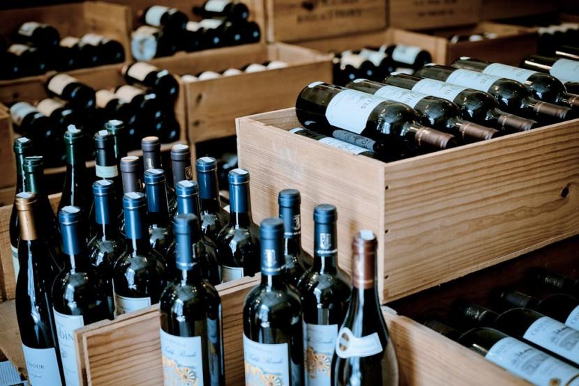 wijnflessen – bedrijfsfotografie