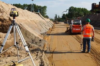 aanleg fietstunnel - Ressen