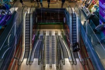 roltrappen markthal - Rotterdam