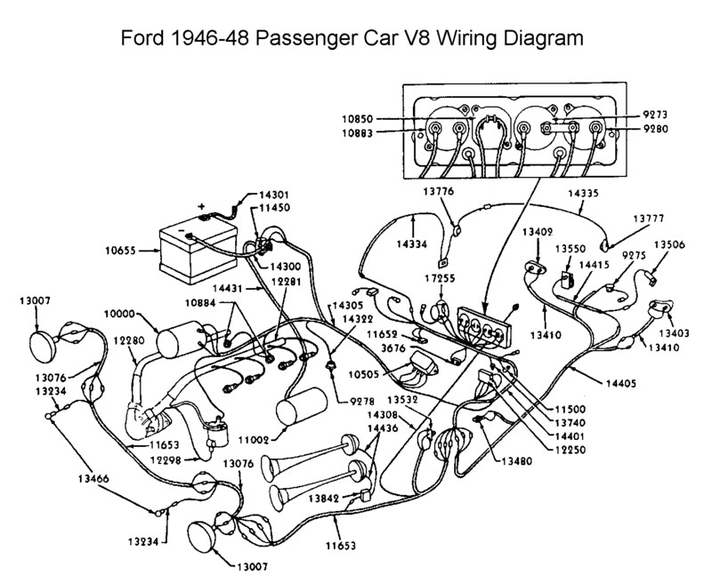 Flathead_Electrical_wirediagram1946 48car?resize\=665%2C545 sportster wiring diagram,wiring free download printable wiring 1987 harley sportster 1100 wiring diagram at edmiracle.co