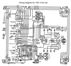 Need wiring diagram for '41 Ford pickup main harness  The