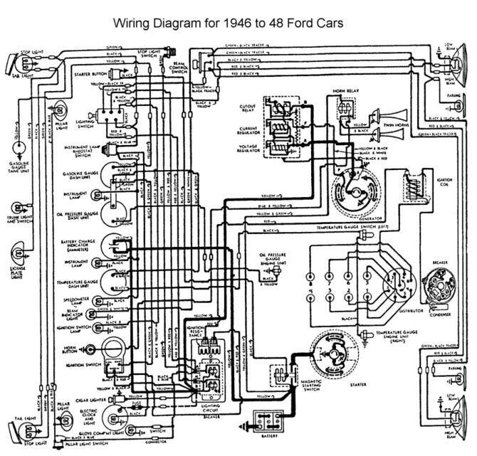 auto wiring diagrams ford  description wiring diagrams