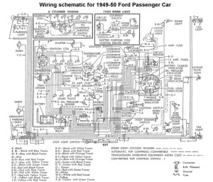 need wiring diagram1950 ford custom V8 coupe  Hot Rod
