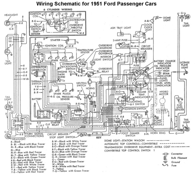 1951 Ford Flathead Wiring Diagram. 1951. Tractor Engine