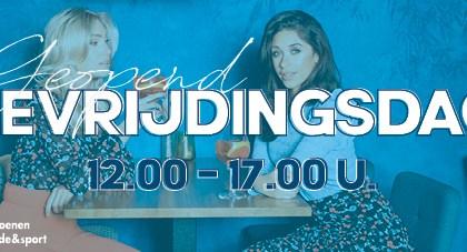 Bevrijdingsdag open 12-17 uur Van Rijbroek