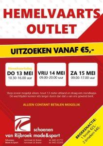 Hemelvaarts outlet Van Rijbroek