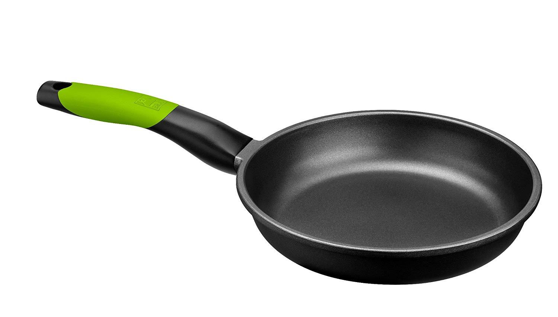 BRA PRIOR - Sartén de 24 cm, aluminio fundido con antiadherente Teflon Classic, apta para todo tipo de cocinas incluida inducción y horno.Libre de PFOA.