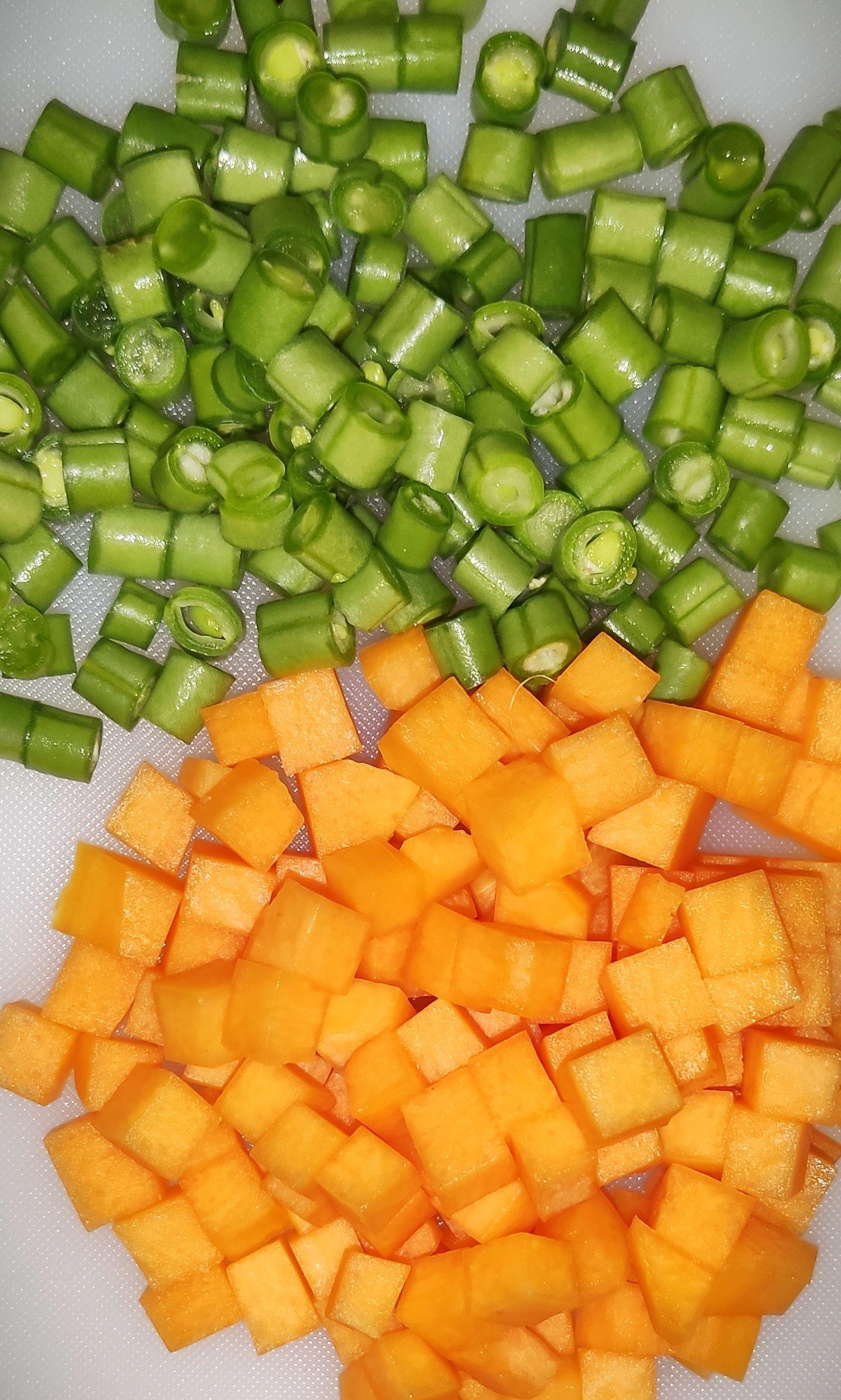 verduras brunoise