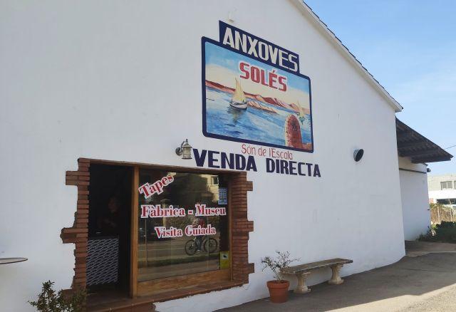 Fábrica de anchoas Solés, L'Escala
