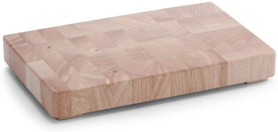 Tabla de cocina de madera con patas