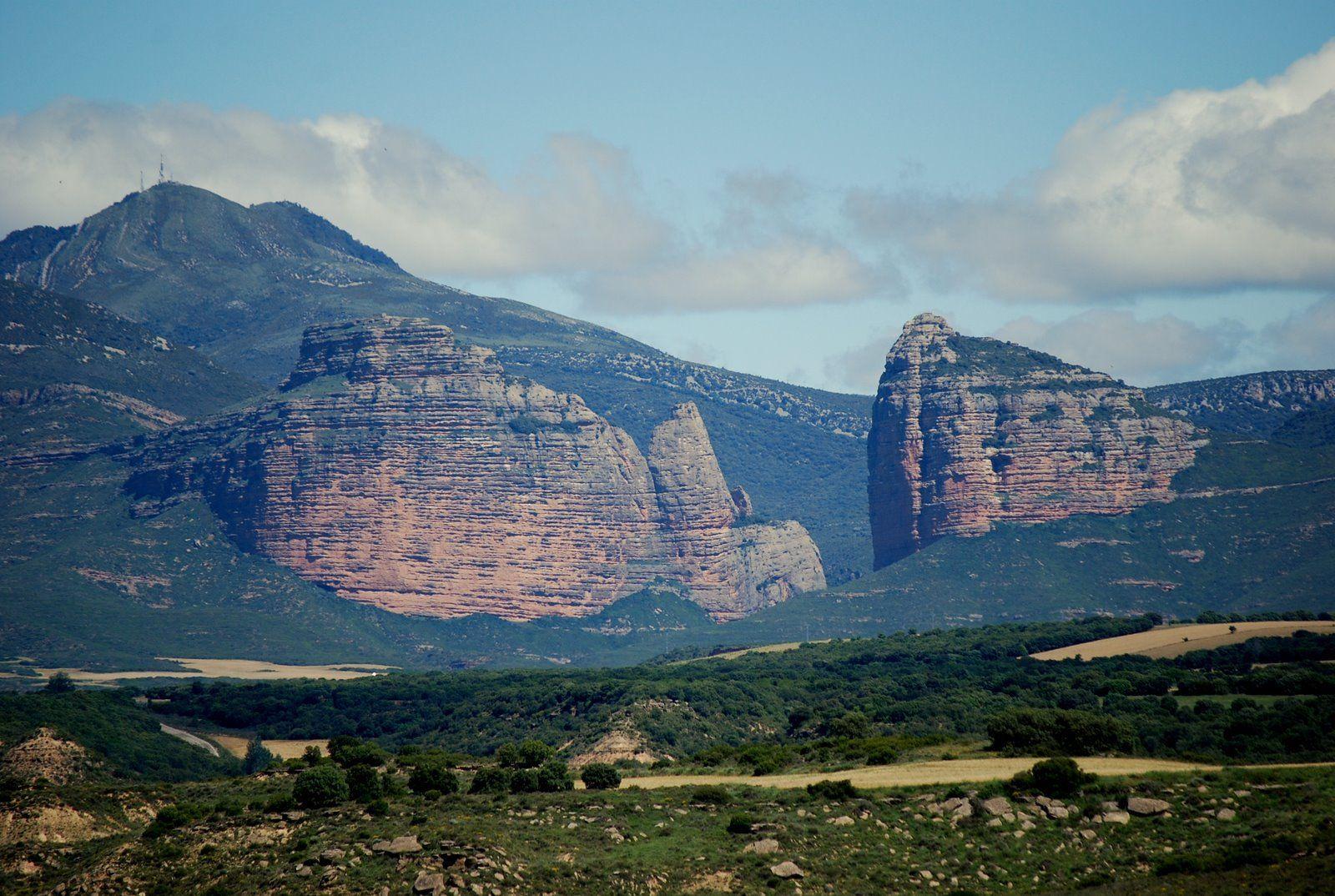 El Salto de Roldán, Aragón