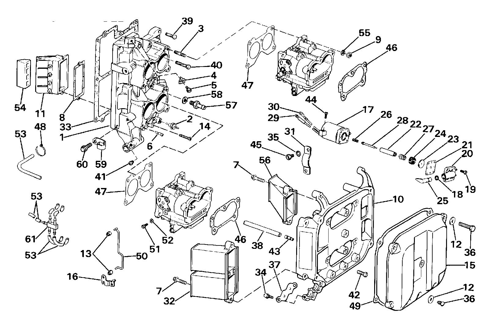 Johnson Outboard Motor Parts Diagram