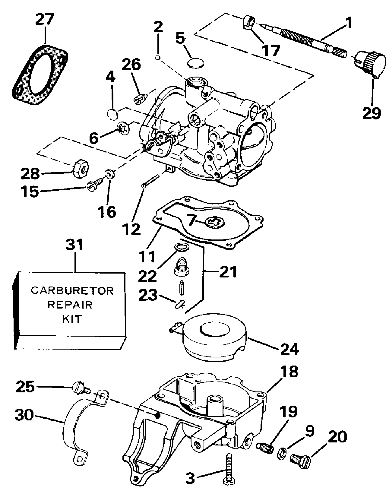 E30elcce Carburetor