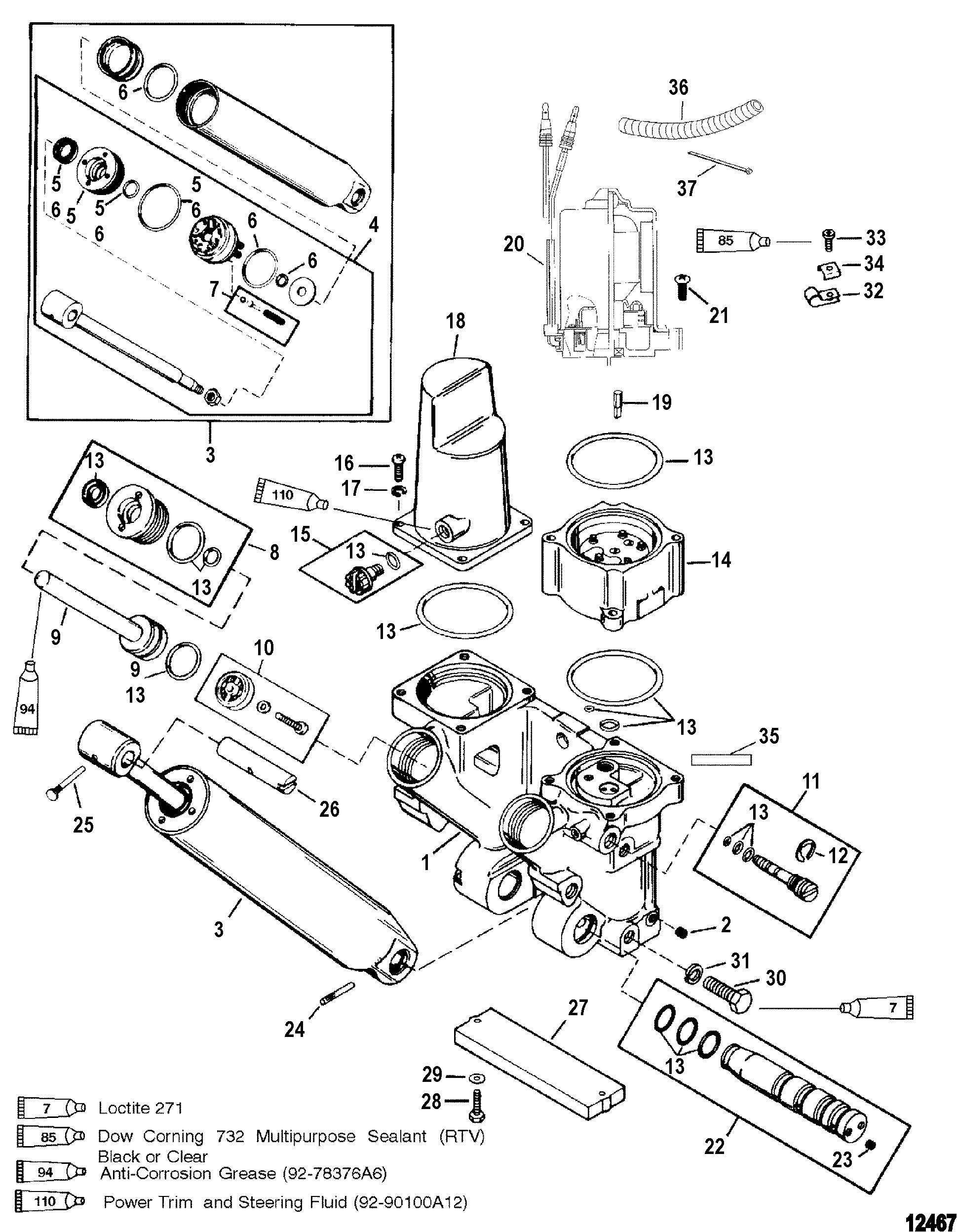Mercury Sport Jet Pump Schematic